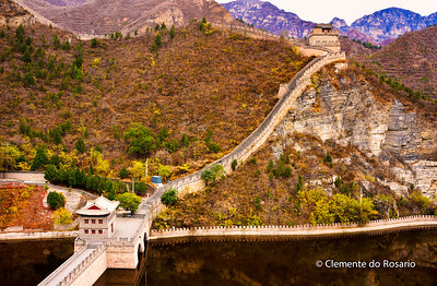 Great Wall at Juyongguan Pass,Beijing.