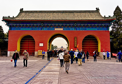 Temple of Heaven West Gate, Beijing