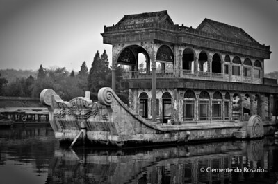 Marble Boat , Summer Palace, Beijing