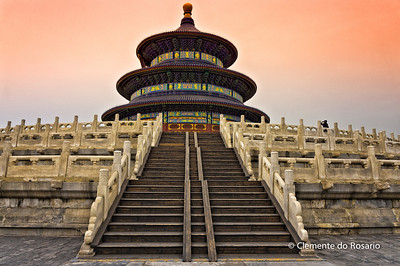Hall of Prayer for Good Harvests in the Temple of Heaven Park, Beijing