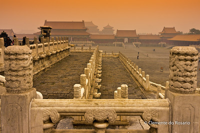Forbidden City complex, Beijing,China