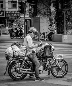 Black n White in Fuzhou July 2015