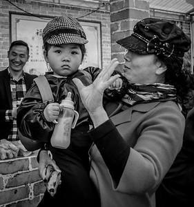 Black n White in Taizhou, Jiangsxu, April 2016