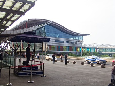 Wuxi Railway Station - On Duty!