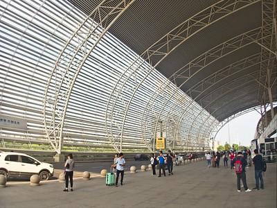 Wuxi Railway Station.