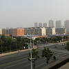 View from the Hotel Room in Rizhao