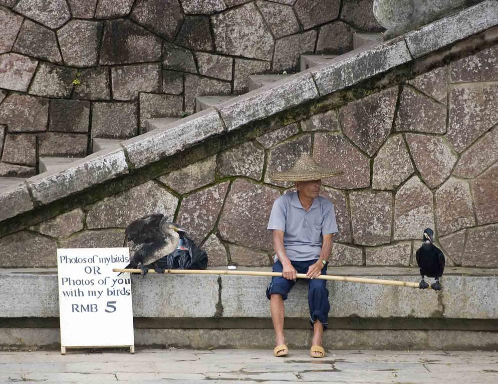Guilin River tourist trap.