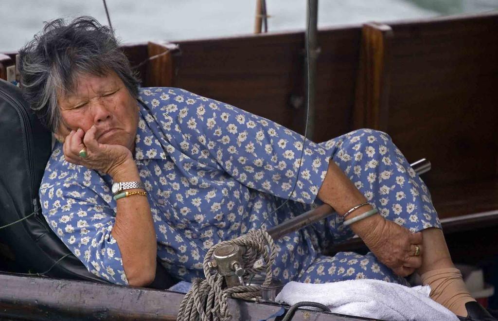 Hong Kong Boat Resident.