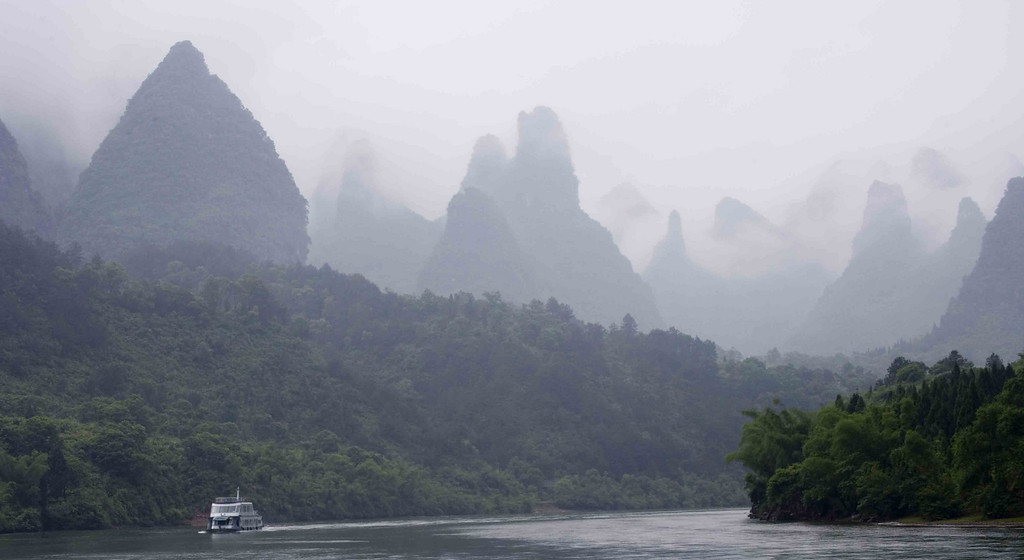 Guilin River early morning.