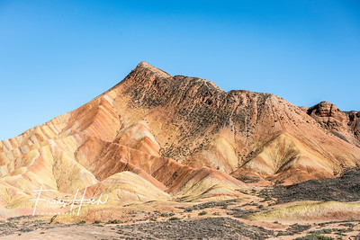 Danxia Landforms / Rainbow Mountains