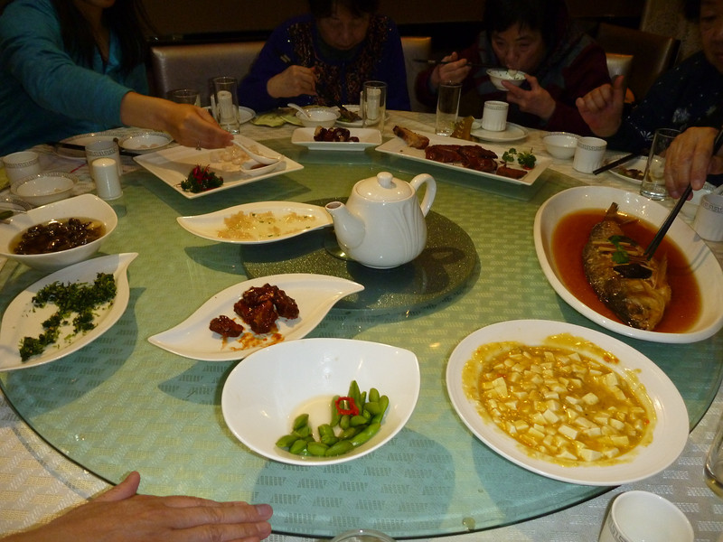 The delicious food that we were looking forward to eat, but we were just so tired!!