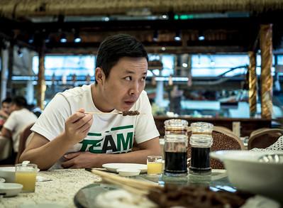 Fish Restaurant, Fuzhou, China, Oct 2016
