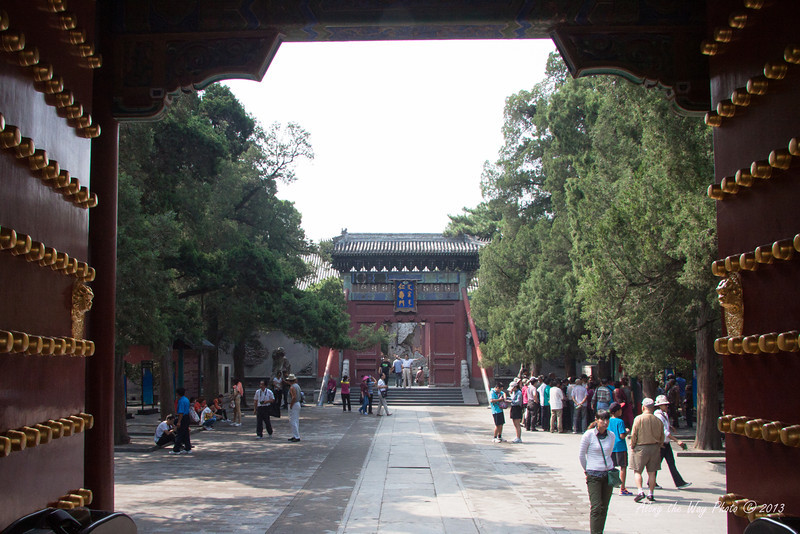 China-1410<br /> Entrance to the Summer Palace in Beijing, China. The 742 acres started in the mid 1700's as a luxurious garden for the royal families. Has over 3,000 man made structures and includes Kunming Lake.
