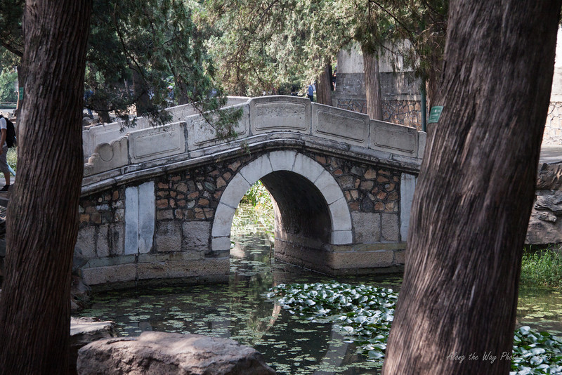 China-1450<br /> Bridge in the Front Hill Area of the Summer Palace in Beijing, China.