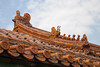 China-1377<br /> Roof in the Forbidden City in Beijing.