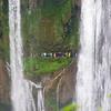 A path behind the Huangguoshu waterfall