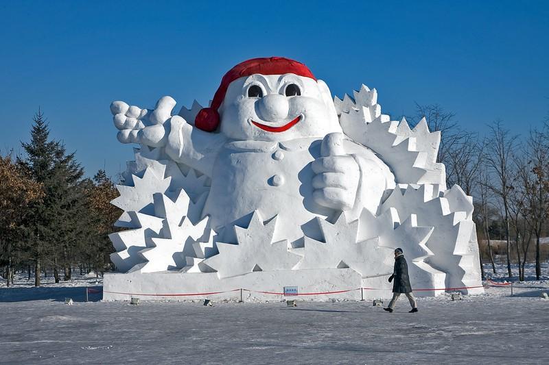 Snow & Ice festival in Harbin China