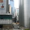 Street scene on Hong Kong Island