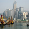 View of Hong Kong Harbor