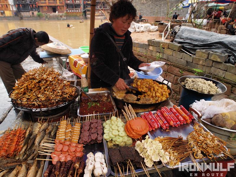 China street food in Hunan