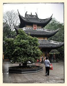 In and Near to Longhau Temple, Shanghai April 2014