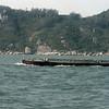 Scene from boat from Hong Kong to Jiangmen
