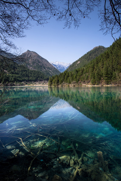 Mirror Lake, Jiuzhaigou