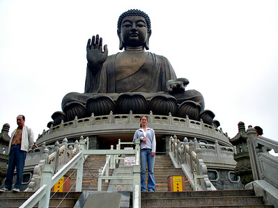 Lantau Island and the Giant Budhha