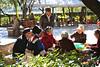 Card playing at Black Dragon Pool Park, Lijiang