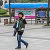 A guide in Nanjing