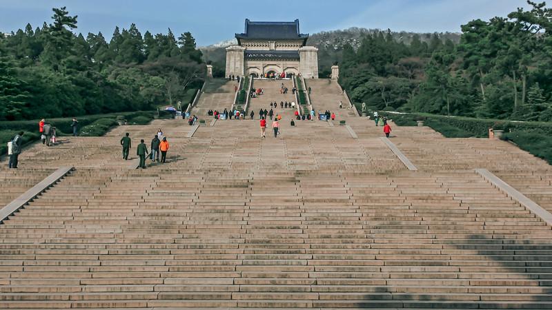 Dr Sun Yat-sen mausoleum in Nanjing