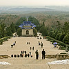 Veiw from Dr Sun Yat-sen mausoleum in Nanjing