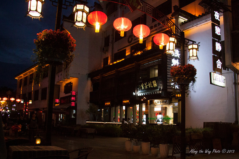 China-3421<br /> The main street of the old town of Tunxi was built in the Song Dynasty between 960 and 1279. The old town of Tunxi has become the urban center of Huangshau.