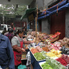 At the Muslim area market