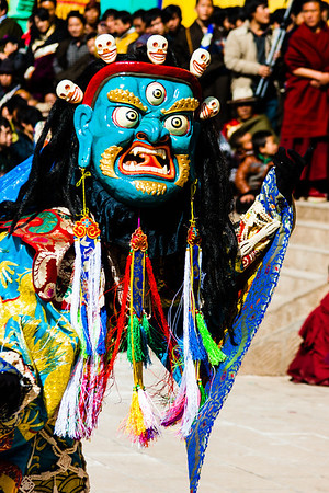 One of the Dharmapsalas or one of their followers.
