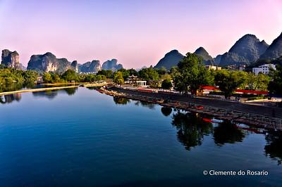 Dragon River near Yangshuo, China