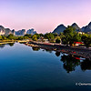 Dragon River near Yangshuo, China