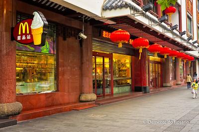 MacDonalds in Old Shanghai, China