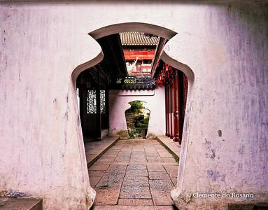 Ming Dynasty Yuyuan Garden, Shanghai, China