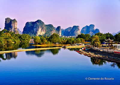 Yulong River near Yangshuo, China