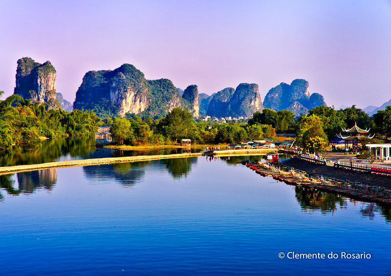 Yulong River near Yangshuo, China