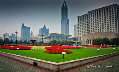 Peoples Square,Shanghai, China