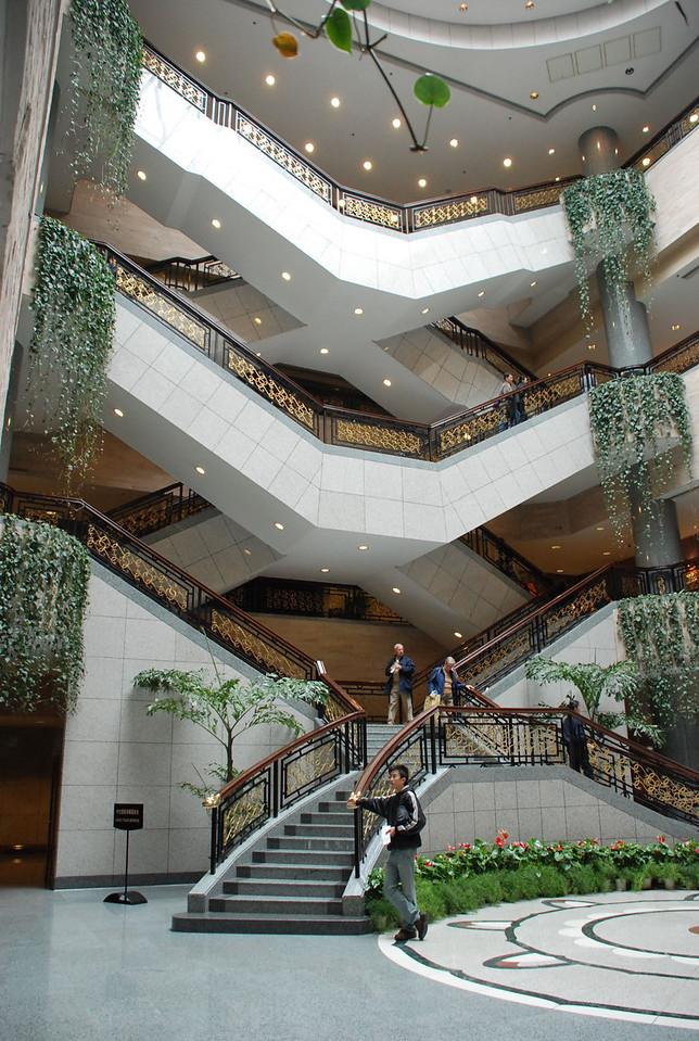 Shanghai Museum staircase