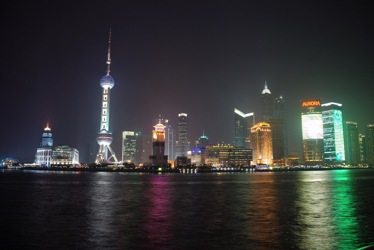 Pudong in the \'dark\'