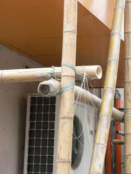 Nicely Knotted Scaffolding