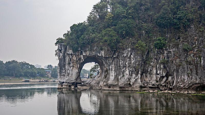 Elefant klippan, Guiling <br /> Elephant cliff, Guiling