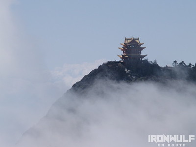 Emeishan, one of the 4 Sacred Mountains in China