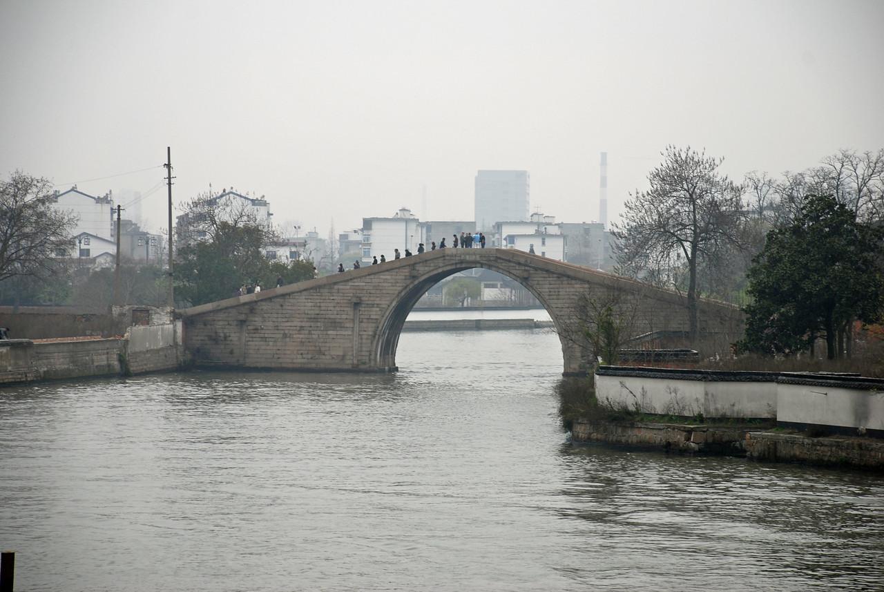 Bridge over the city moat