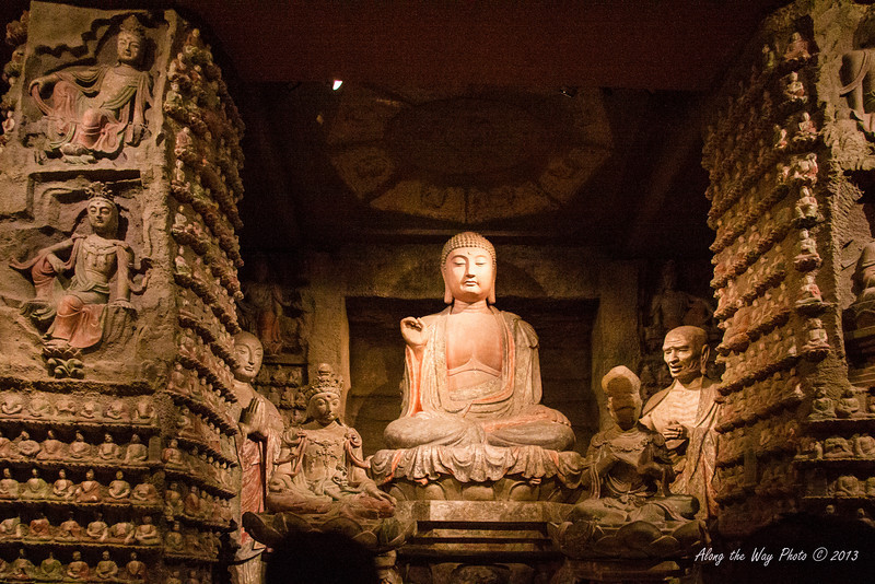 China-1911<br /> Buddhist statues from the Song Dynasty are displayed in the Shaanxi Provincial History Museum in Xian, China.