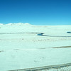 This river freezes over at night. 15,000 ft